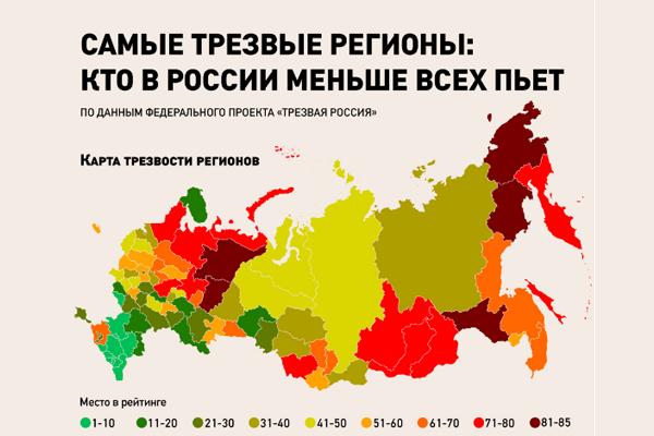 Самарская область потеряла позицию врейтинге трезвости